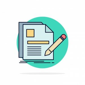 Jasa Detektif Swasta jasa detektif swasta Tentang Kami pngtree documentfilepagepenresume flat color icon vector png image 1491048 300x300